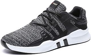 JACKSHIBO Sneaker Herren Laufschuhe Herren Leicht Sportschuhe Gym Turnschuhe Outdoor Schuhe Atmungsaktiv Freizeit Fitnesss...
