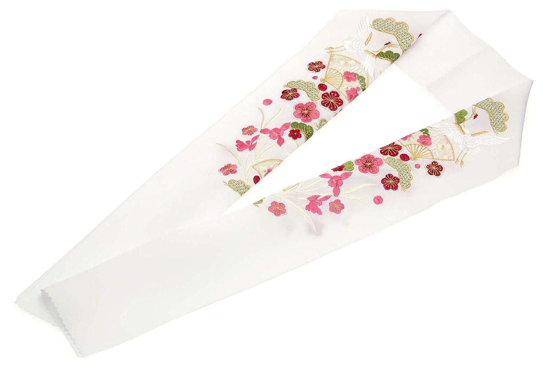 (ソウビエン) 半衿 刺繍 成人式 振袖向き 卒業式 女性用 レディース 日本製