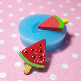 011LBX Watermelon Ice Cream Bar / Popsicle Silicone Mold for Cake Cookie Phone CellPhone Decorating Chocolate Soap Epoxy Clay Fimo Clay