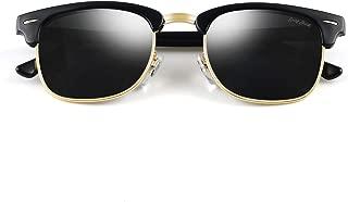 Classic Half Frame Sunglasses Fashion Eyeglasses for Men Women Ladies