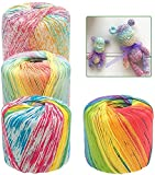 JeogYong 0.9 mm Variegated Cotton Crochet...