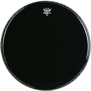 Remo ES1020-00 20-Inch Ebony Ambassador Bass Drum Head