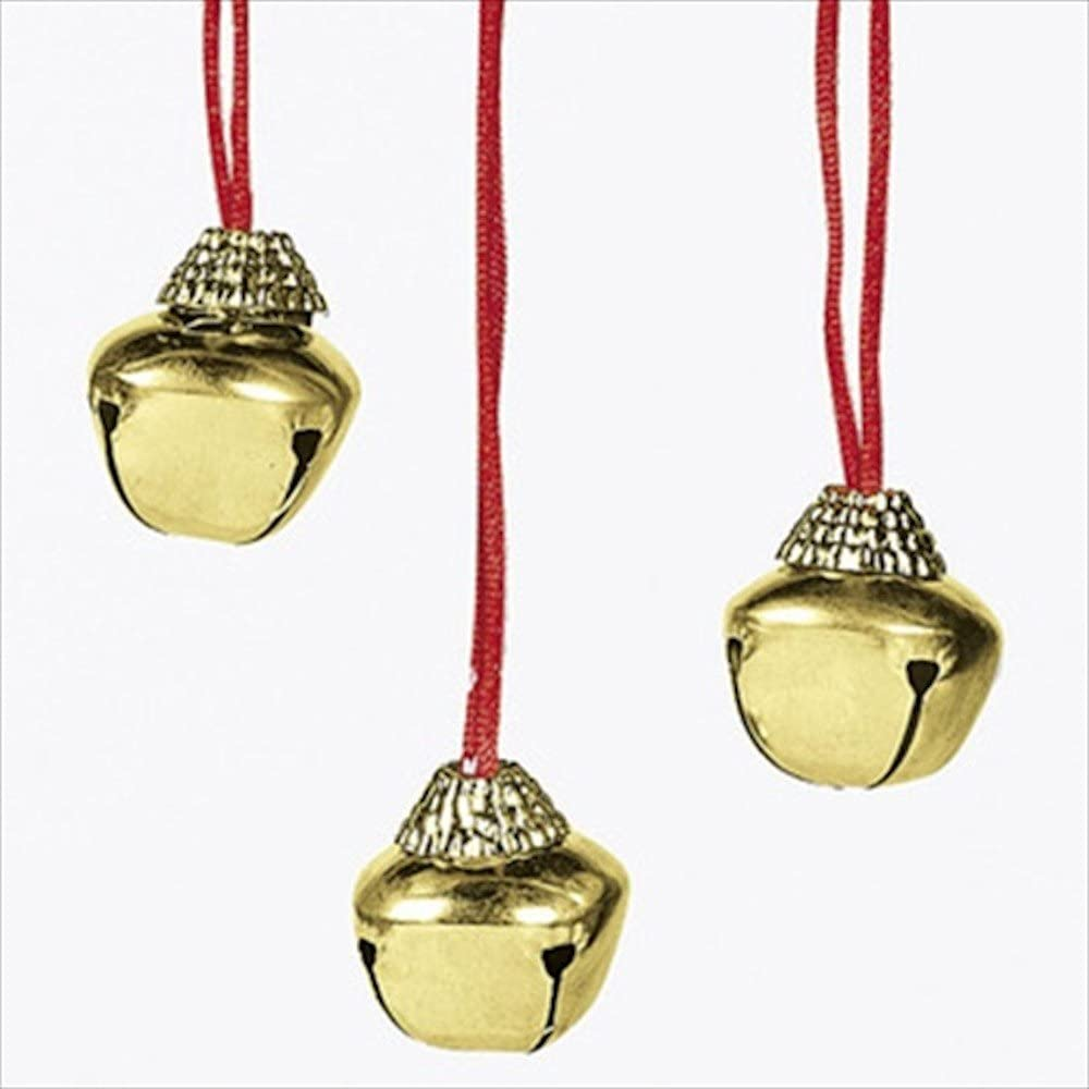 Large Christmas Holiday Jingle Sale item Bell 12-pack Necklaces Oakland Mall
