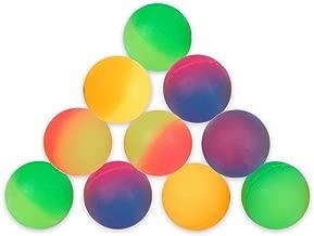 Schramm® 10 Stück Flummis Frost 27mm Flummi Springball Hüpfball Mitgebsel Tombola Kindergeburtstag Gummiball Springball Hüpfbälle 10er Pack