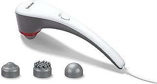 جهاز تدليك تسخين حراري متعدد الاستخدامات من بيورير - MG 55، ابيض ورمادي