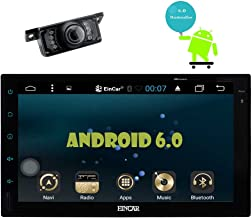 """Backup Camera Included! Eincar Android 6.0 Double Din Car Stereo Car Radio with 7"""" Capacitive Touchscreen GPS Navigation Bluetooth WiFi AM/FM Radio Audio Receiver External Microphone Remote Control"""