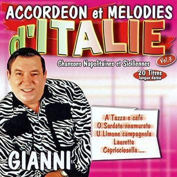 Chansons Napolitaines Et Siciliennes Vol. 3 (Accordéon Et Mélodies)