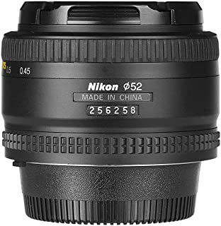 Nikon AF NIKKOR 50mm f/1.8D Prime Lens, Black