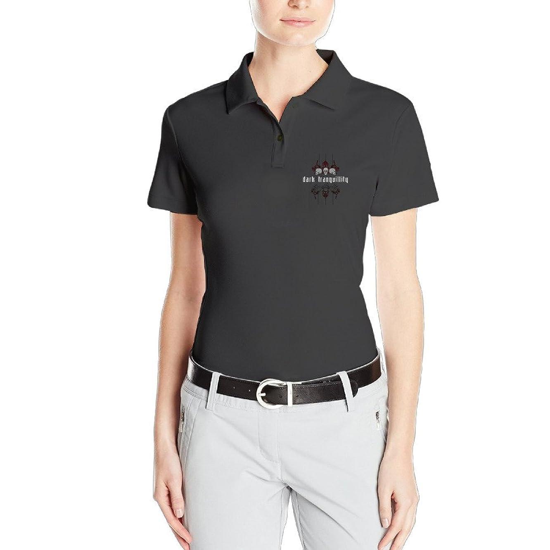 Funny Design Womens Classic Dark Tranquillity Construct Band Custom Polo Shirts Polo Plain T Shirts