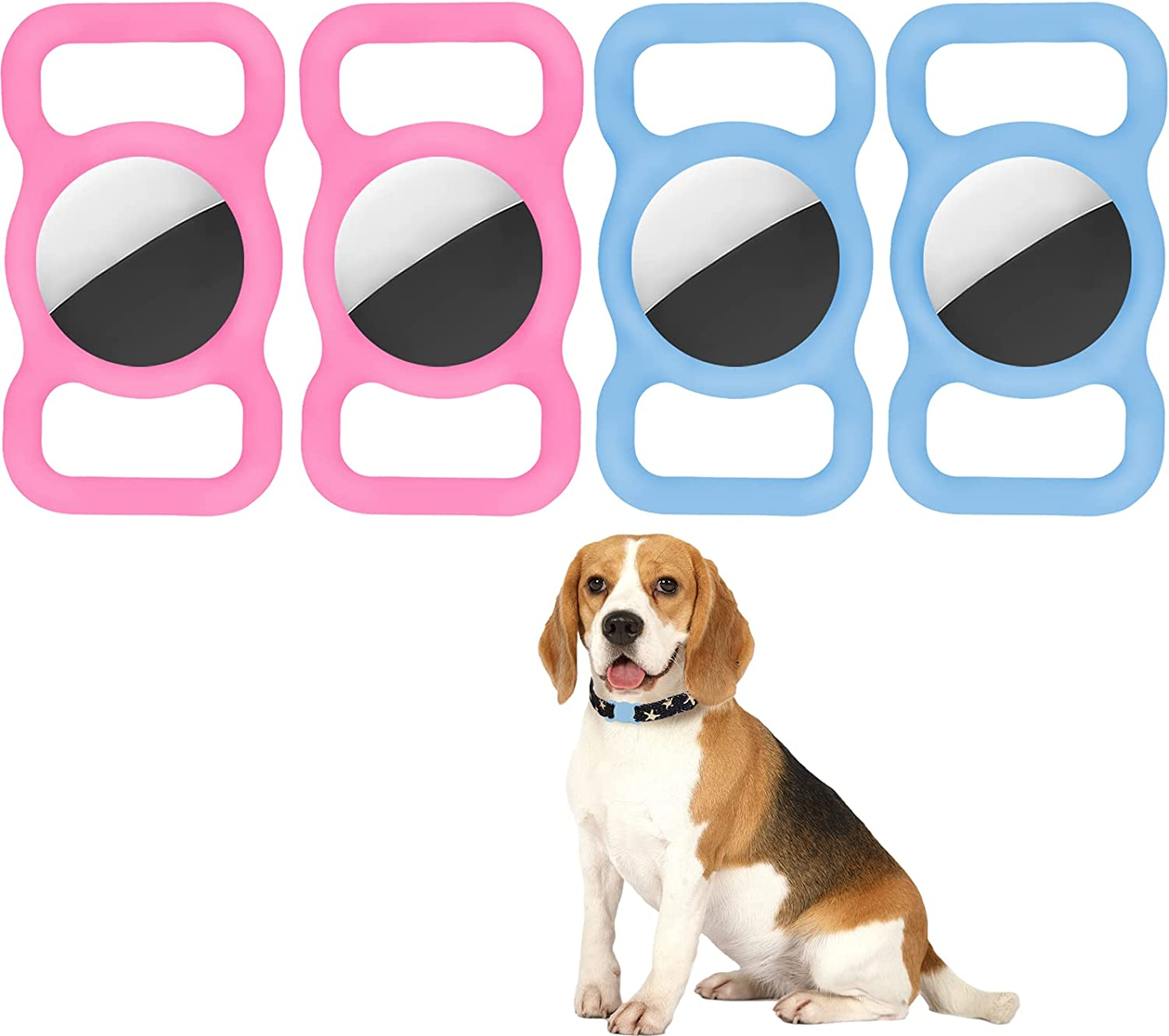 CLZYLRS Outstanding Case Compatible with Airtag Dog Pet D 5 ☆ very popular Collar Strap Band