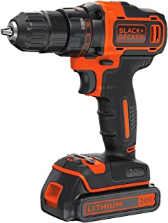 BLACK+DECKER 20V MAX Cordless Drill/Driver Variable Speed (BDCDD220C)