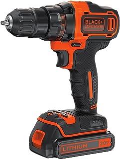 Black & Decker BDCDD220C 20V MAX Taladro y destornillador de litio, con 2 velocidades.