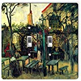 Rikki Knight 1463 Double Toggle Van Gogh Art Terrace of A Café Design Light Switch Plate