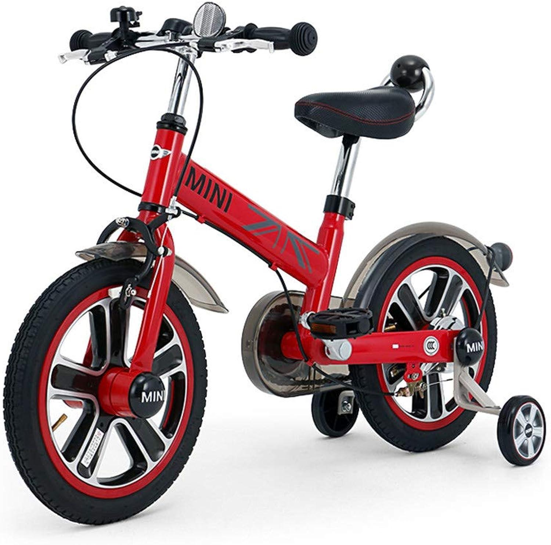 LHY RIDING Kinderfahrrad Baby Fahrrad 14 Zoll Mnnliches Mdchen Stepping Fahrrad Kind Kinderwagen Geeignet Für Kinder über 3 Jahre Alt