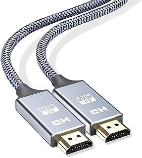 hdmi ケーブル 4k60hz 2m2本セット hdmi 2.0規格 HDR/3D/18Gbps 高速イーサネット対応 パソコンの画面をテレビに映す Apple TV,Fire TV Stick,PS4/3,Xbox, Nintendo Sw...