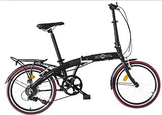 """Ecosmo 20\""""De Aleación de Peso Ligero Plegable de la Ciudad Para Bicicleta, 12Kg - 20Af09Bl"""