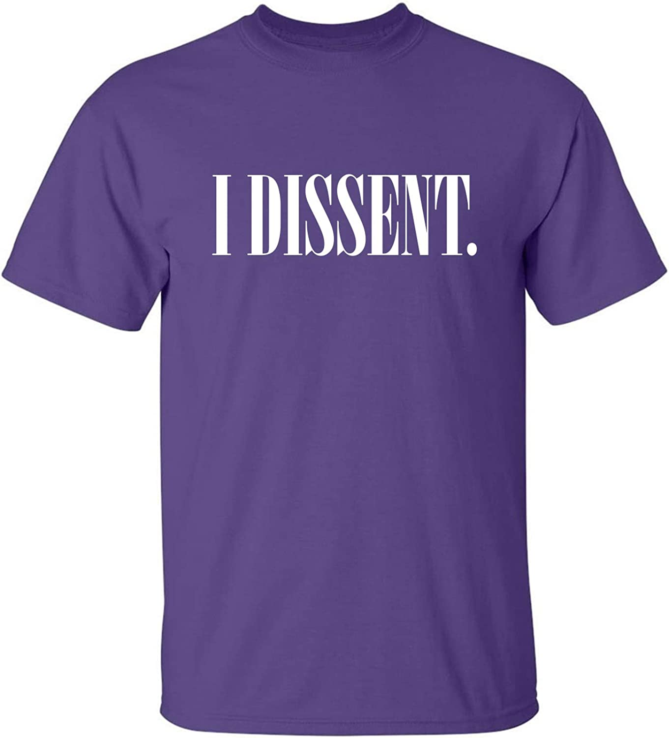 I Dissent Adult T-Shirt in Purple - XXXX-Large