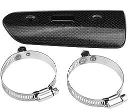 B Blesiya 1 Pezzo 22,5 Centimetri in Acciaio Inox Moto Marmitta Protettore Tubo di Scarico per
