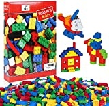 iNeego Bloques de Construcción 1000 Piezas Bloques de Construcción Infantil 3D Juegos de...