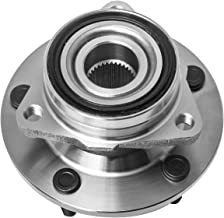 TUCAREST 515006 Front Wheel Bearing and Hub Assembly Compatible With 1994 1995 1996 1997 1998 1999 Dodge Ram 1500 [4WD 5 Lug W/o ABS]