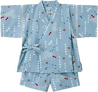 8c75a067c0e217 ミキハウス (MIKIHOUSE) 甚平スーツ 12-7516-844 80cm ブルー