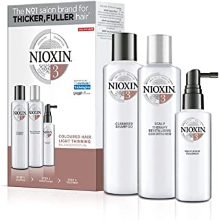Nioxin System Trial Kit with Shampoo, Conditioner and Treatment
