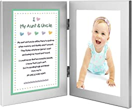 Gift for Uncle and Aunt, Sweet Poem from Niece or Nephew - Add Photo