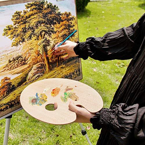 Mr. Pen- Wooden Paint Palette, 2 Pack, Artist Palette, Painting Palette, Oil Paint Palette, Wood Paint Palette, Art Pallet for Painting, Palettes, Wood Paint Pallet, Pallets for Painting, Wood Palette