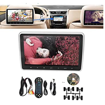 Auto Mp4 Player 10 1 Zoll Kopfstützen Monitor Dvd Video Player Usb Hdmi Ir Fm Tft Lcd Knopf Touchscreen Auto