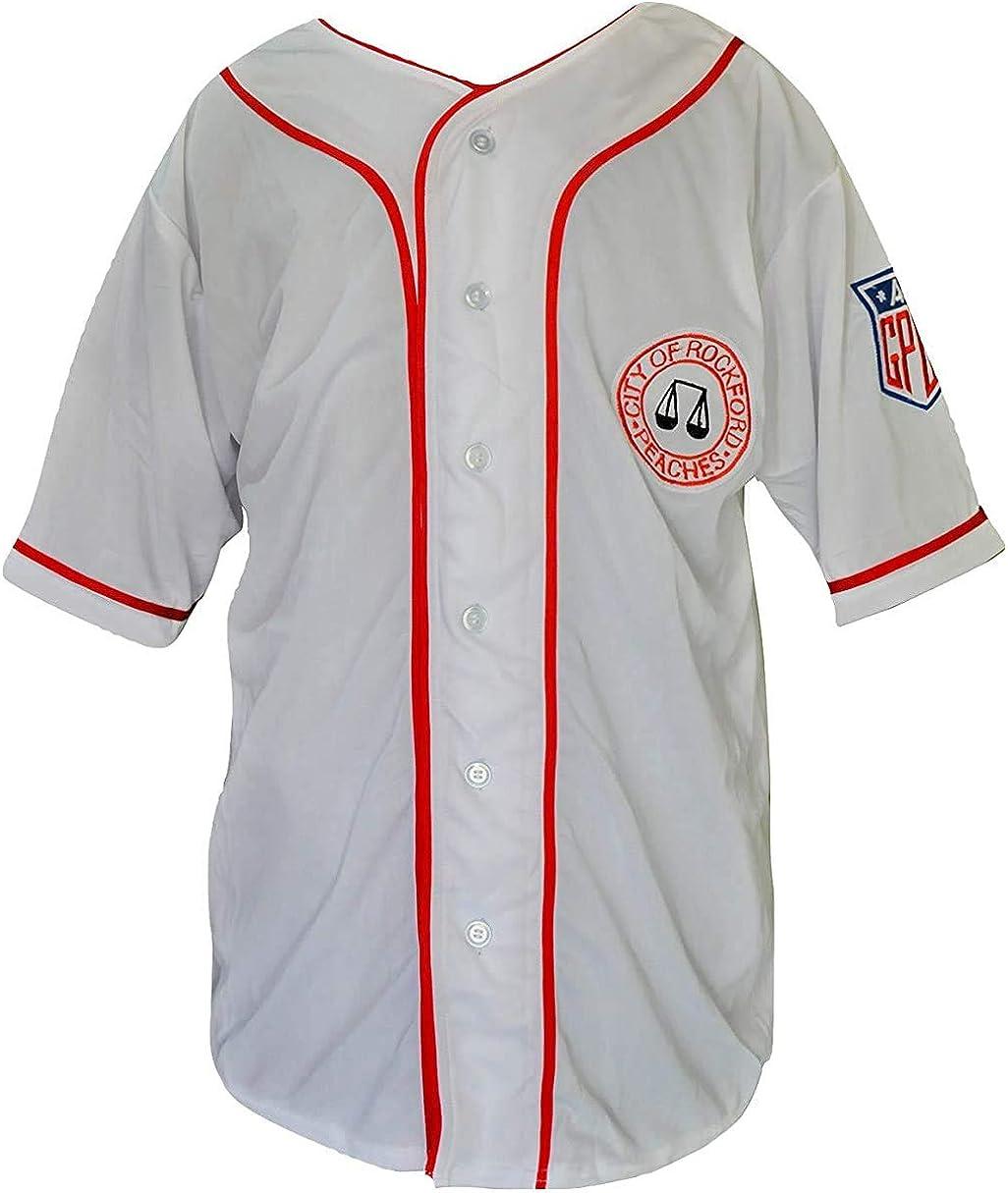 borizcustoms Hanks 毎日がバーゲンセール Jimmy Dugan 正規取扱店 Jersey Stitch Sewn Baseball
