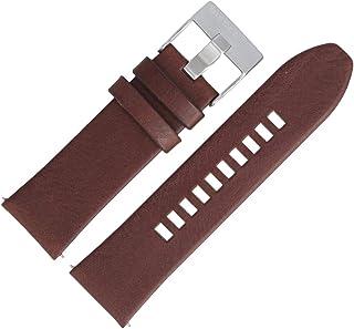 Diesel Bracelet de Montre 26mm Cuir Marron DZ-4290