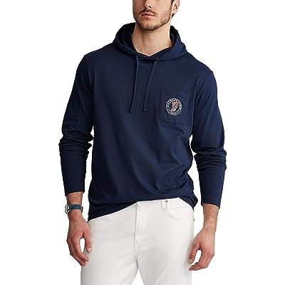 Polo Ralph Lauren Big & Tall Big Tall Long Sleeve T-Shirt (Newport Navy) Men