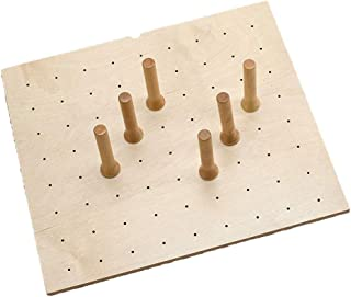 Rev-A-Shelf Deep Drawer 9 Peg Board System for Drawers Up to 24 Inches, Maple