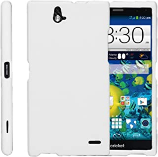 TurtleArmor | Compatible with ZTE Grand X Max Case | Grand X Max+ Plus Case [Slim Duo] Two Piece Hard Cover Slim Snap On Case on White - White