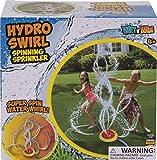 Tidal Storm Hydro Swirl Spinning Sprinkler, Kids Backyard Splashing Water Play Outdoor Toy from w/ Wiggle Tubes