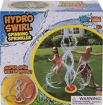 Tidal Storm Hydro Swirl Spinning Sprinkler Kids Backyard Splashing Water Play Outdoor Toy from w/ Wiggle Tubes