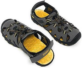 Khombu Kids Athletic Boys Grey Active Sandals (1)