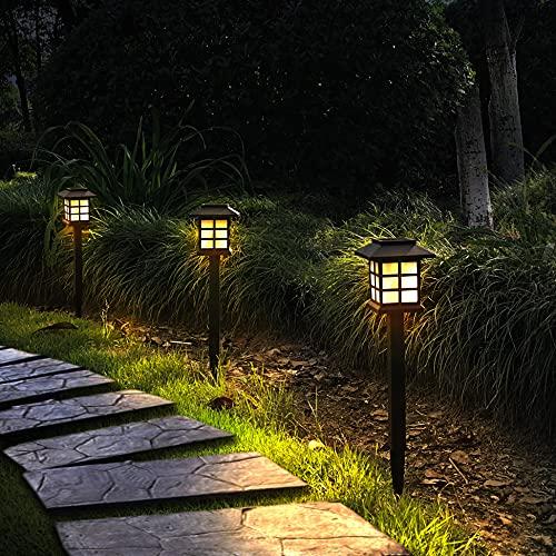 Otdair 12 Pack Solar Pathway Lights Outdoor, Waterproof...