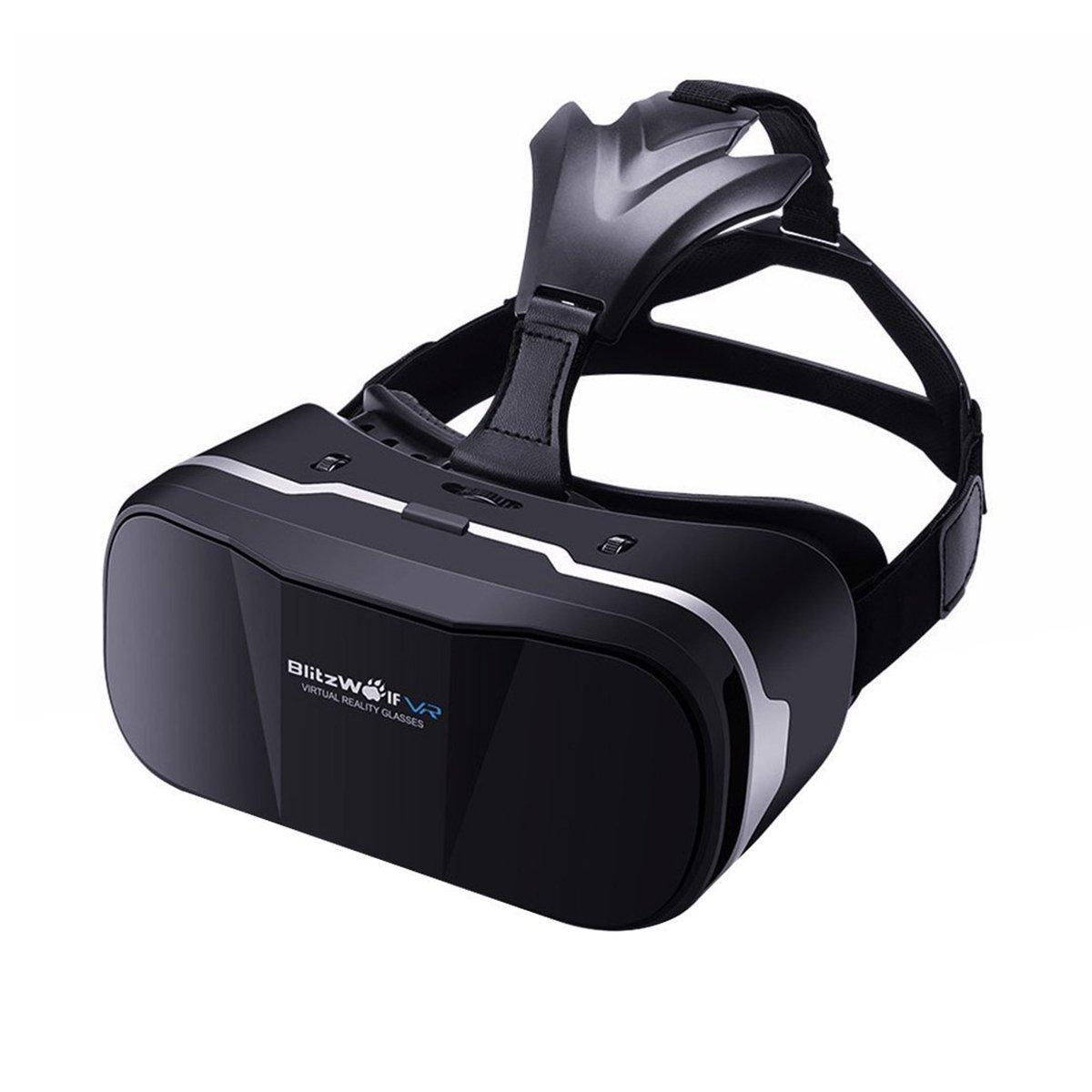 BlitzWolf VR Gafas 3D, Gafas Realidad Virtua de 4,7-6 Pulgadas VR ...