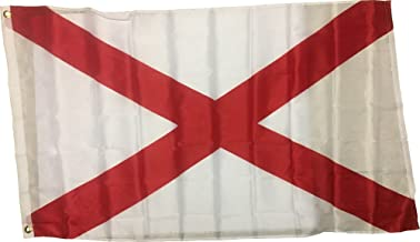 WWW.WILDFLAGS.COM Alabama State Flag 3x5 3 x 5 Outdoor Banner