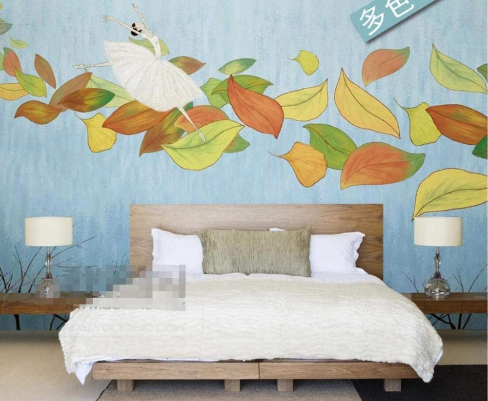 Wall Murales 3D Wallpaper Color Low price Leaf Walls Max 76% OFF Ballet for