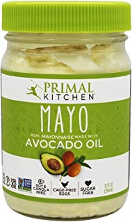Primal Kitchen Avocado Oil Mayonnaise, 12 Ounce (355 ML), Paleo, Whole30   6-Pack