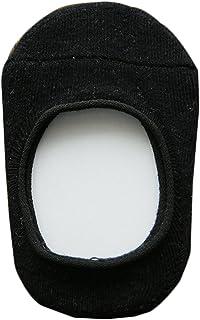 Da. WA bebé Super suave de algodón verano Invisible calcetines negro negro Talla:S