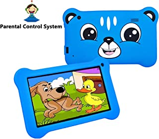 Kids Tablets with Andriod for Kids 3 to 6 with Case Included WiFi 7 Inch Safety Eye Protection IPS HD Screen