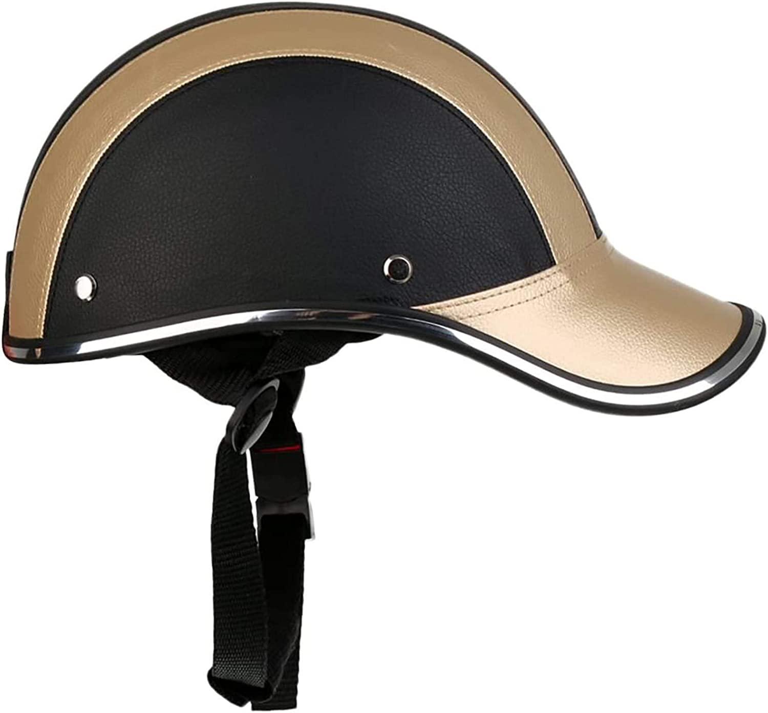 TIANYOU Vintage Leather Motorcycle Product Helmet M Face for Open Safety and trust