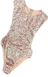 Women's Off Shoulder Sequin Glitter Sparkle Party Top...