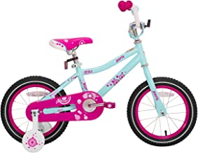 joystar Kids Bike for 2-6 Year Old Girls, 12 14 16 18 Inch Girls Bike with Training Wheels, Easy Assembly Kids Bicycle