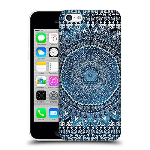 Head Case Designs Licenza Ufficiale Nika Martinez Blu Mandala Cover Dura per Parte Posteriore Compatibile con Apple iPhone 5c