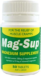 MAG-SUP Magnesium Supplement 50 tablets