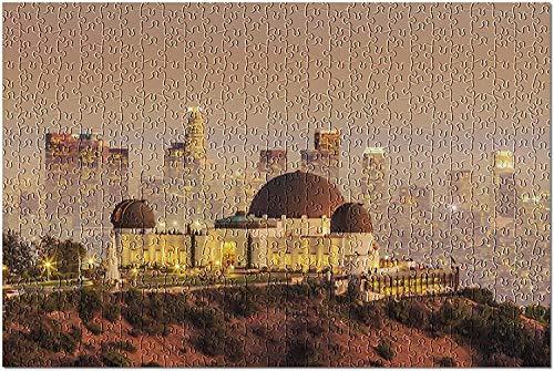 Los Ángeles, California - The Griffith Observatory & City Skyline at Twilight 9023058 (Puzzle de 1000 piezas para adultos y familias) -1000 piezas de puzzle